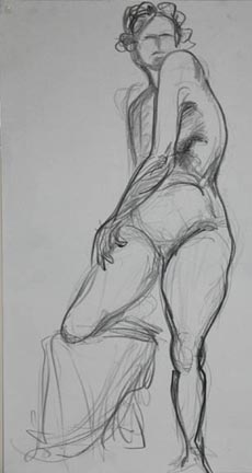 10 minute gesture drawing